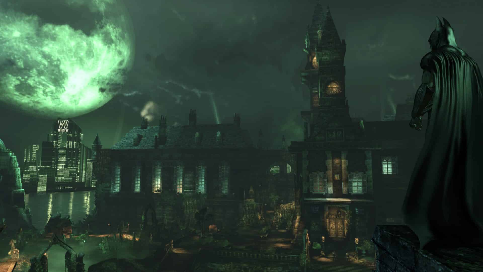 Arham Asylum v hrách