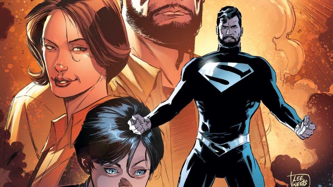 Supermanov čierny kostým