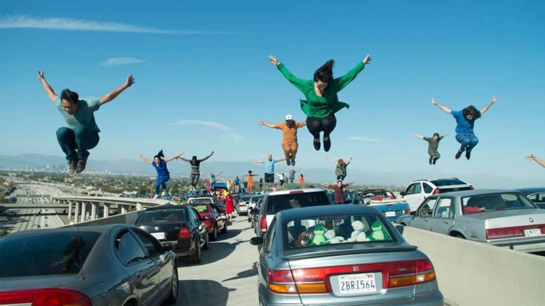 otváracia scéna filmu La La Land
