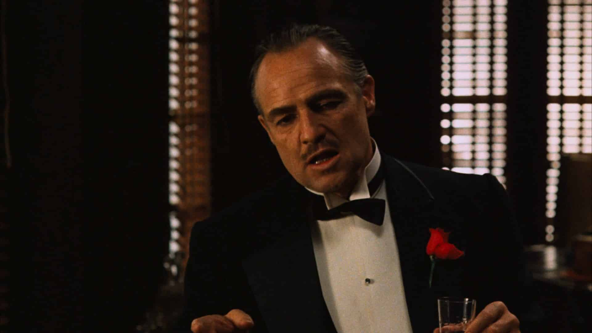 Marlon Brando vo filme Godfather