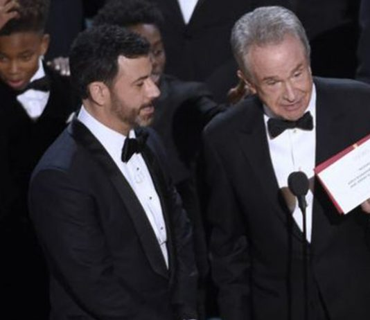 trapas na Oscaroch 2017