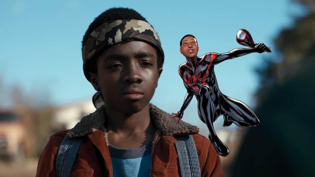 Caleb McLaughlin ako Miles Morales