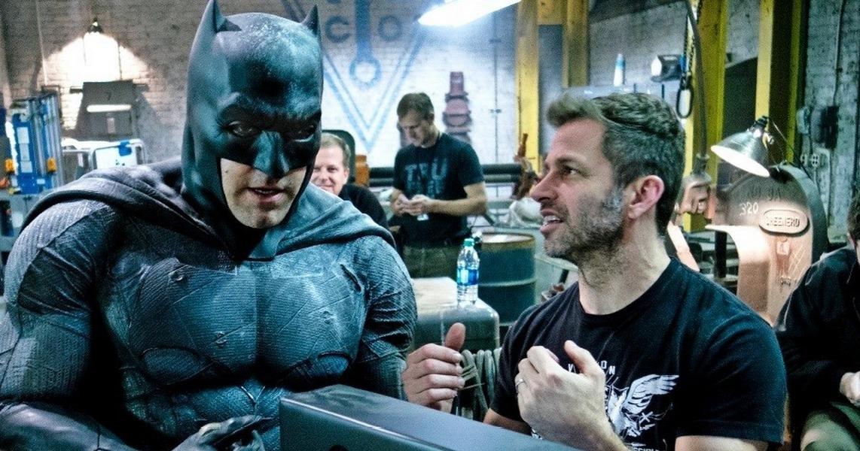 Ben Affleck a Zack Snyder