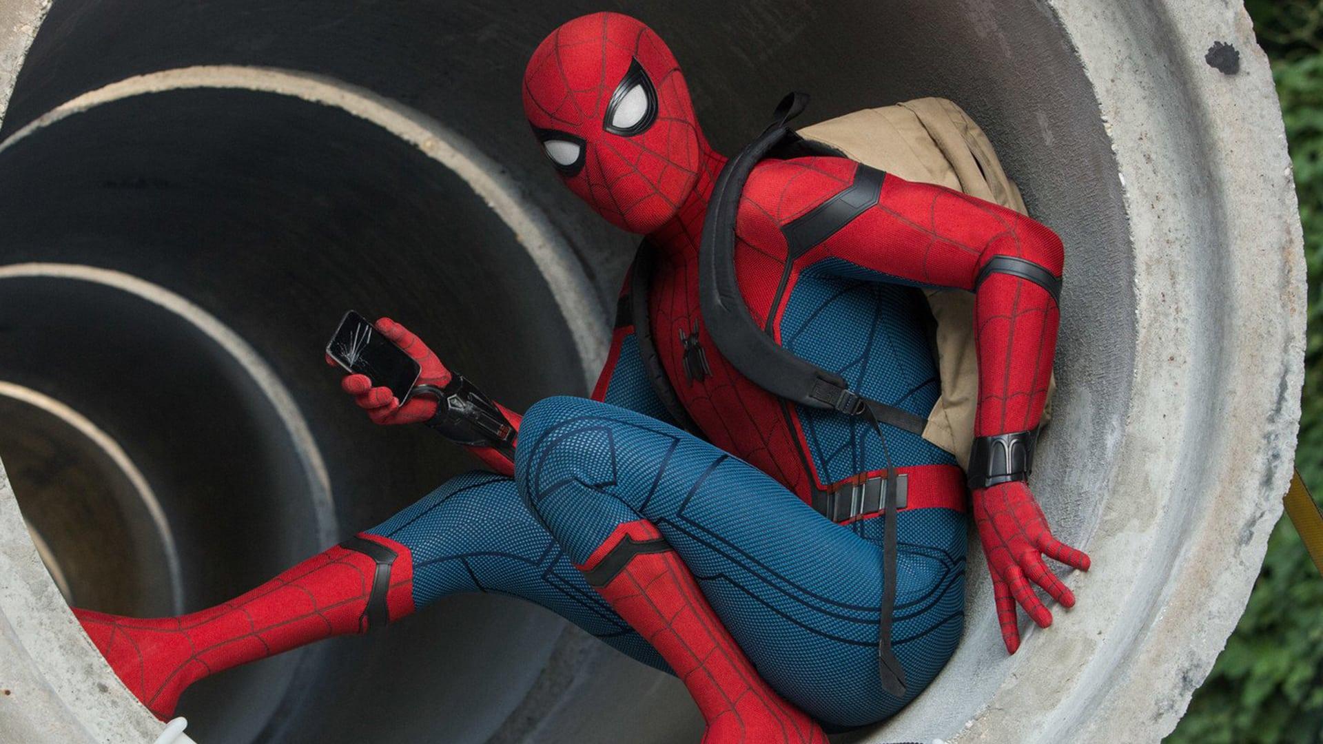 spider-man homecoming klip