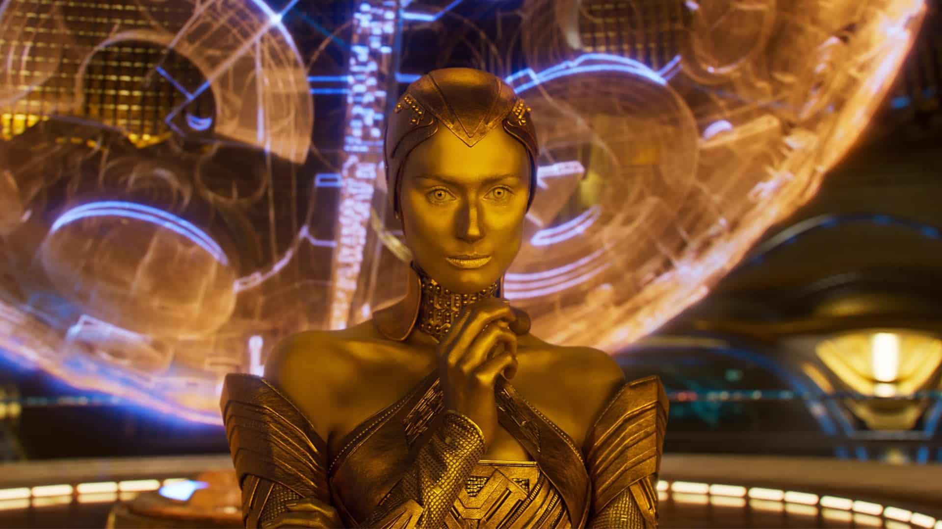 ayesha strážcovia galaxie 3