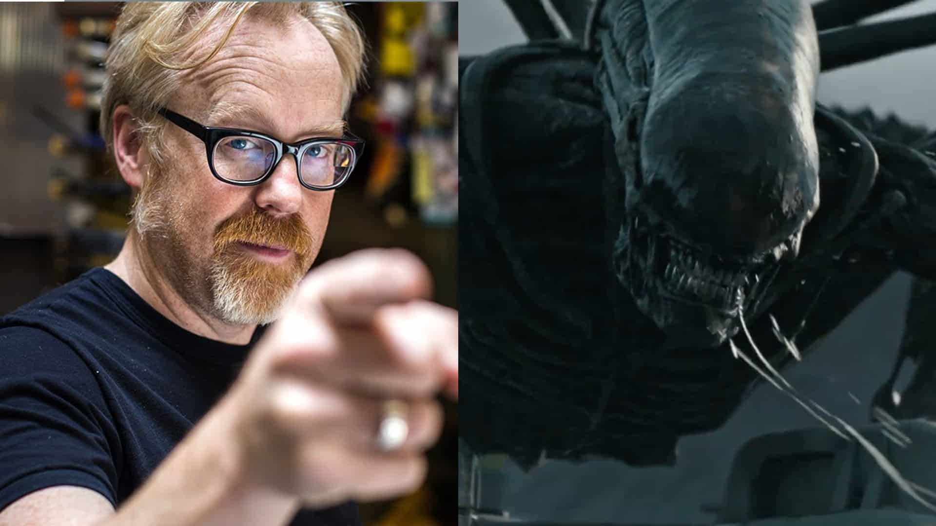 Adam Savage alien