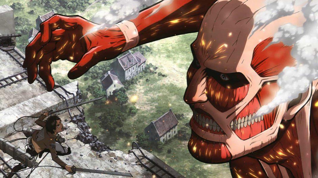 druhá séria attack on titan