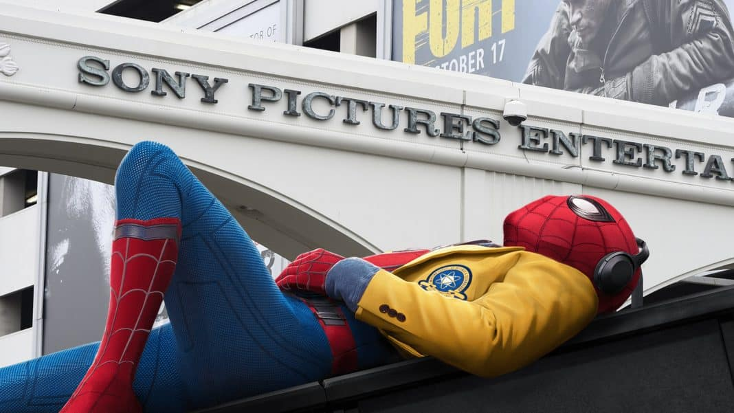 marvel a sony spider-man