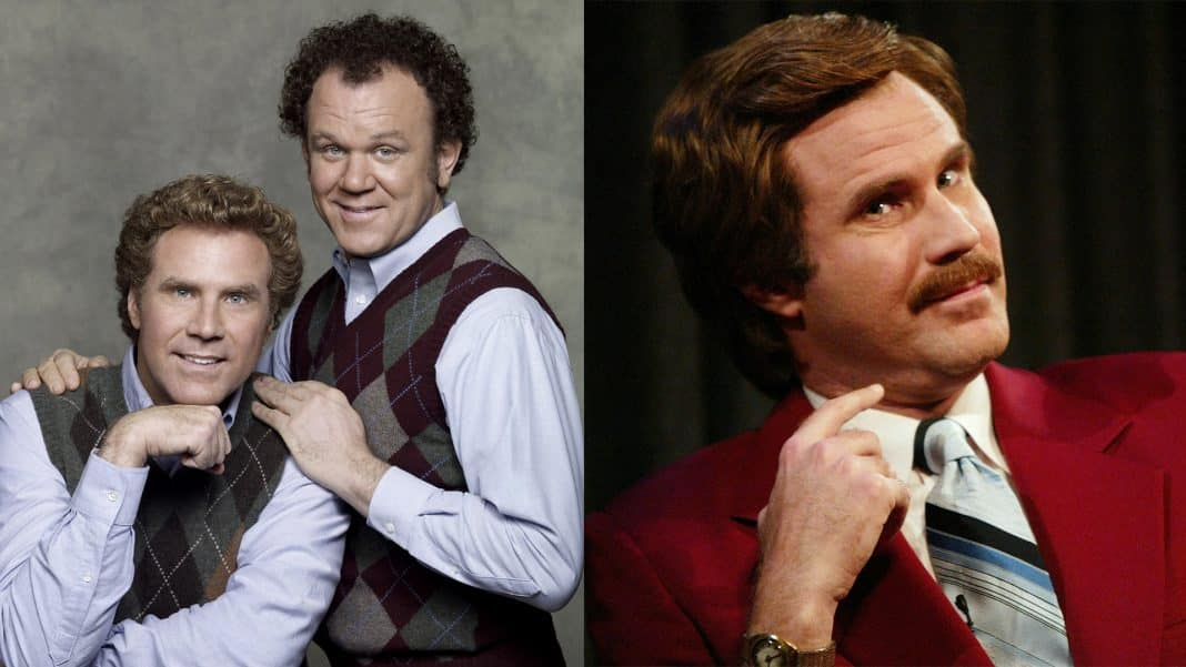 will ferrell step brothers anchorman