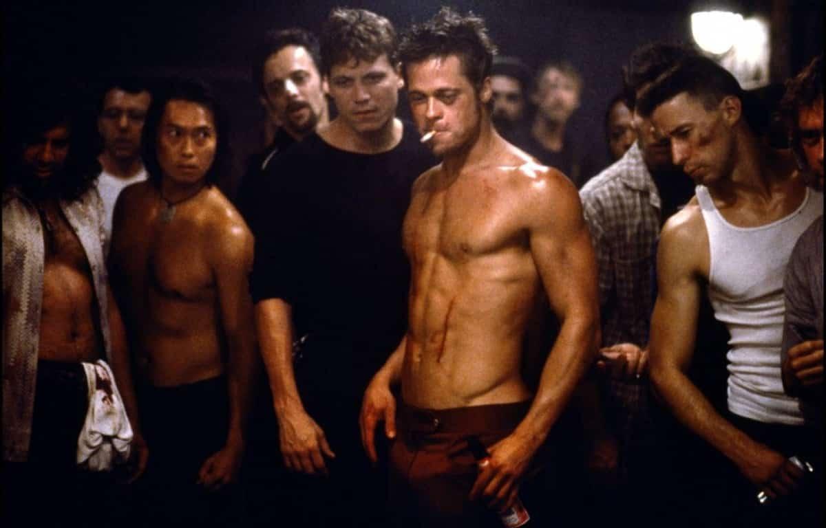 Klub bitkárov, Brad Pitt,