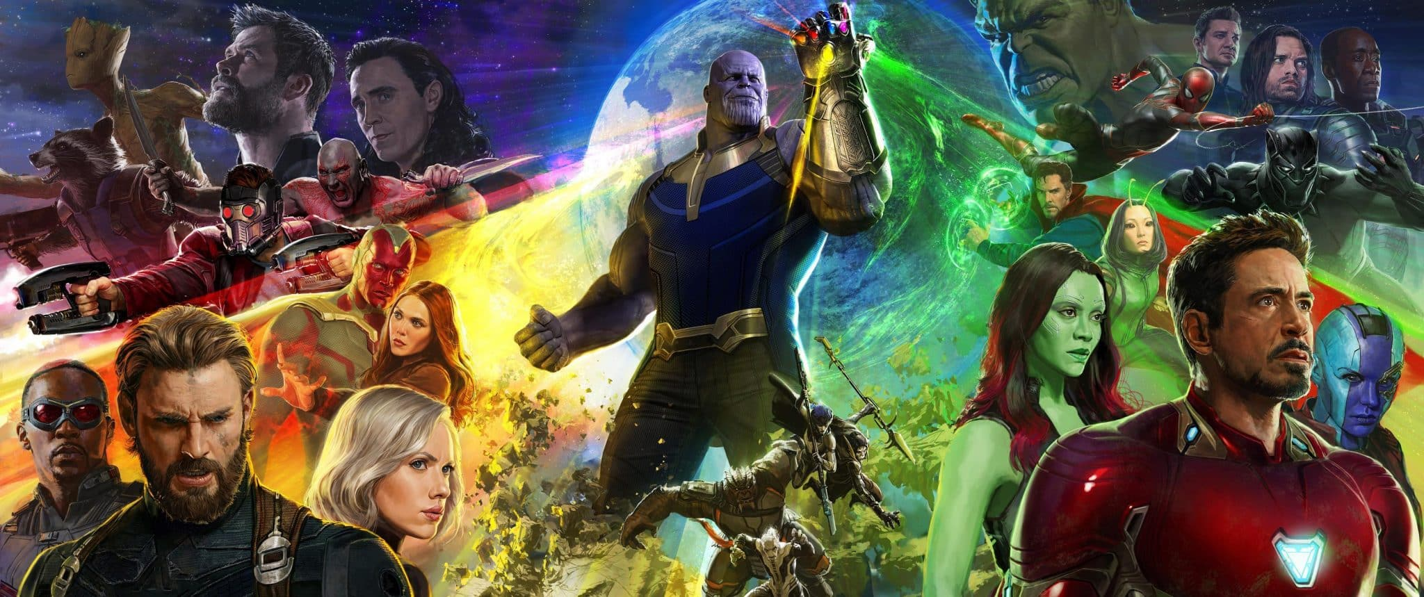 Obrovský plagát na zatiaľ najväčší film od štúdia Marvel, Avengers: Infinity War