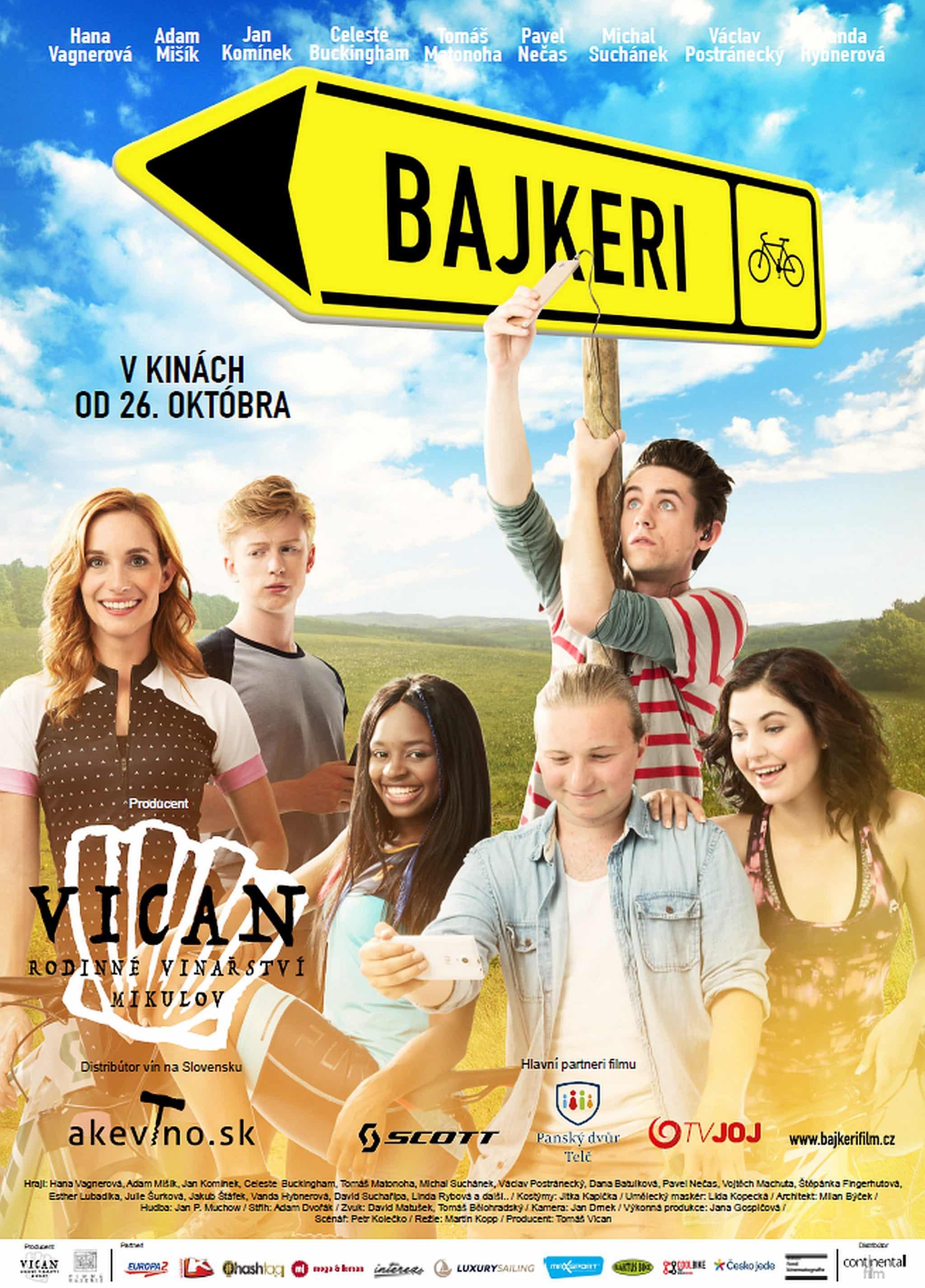 Plagát ku filmu Bajkeri