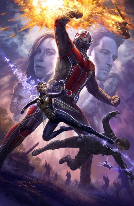 Plagát na Ant-Man and The Wasp z tohtoročného Comic-Conu!; Zdroj: emp.com