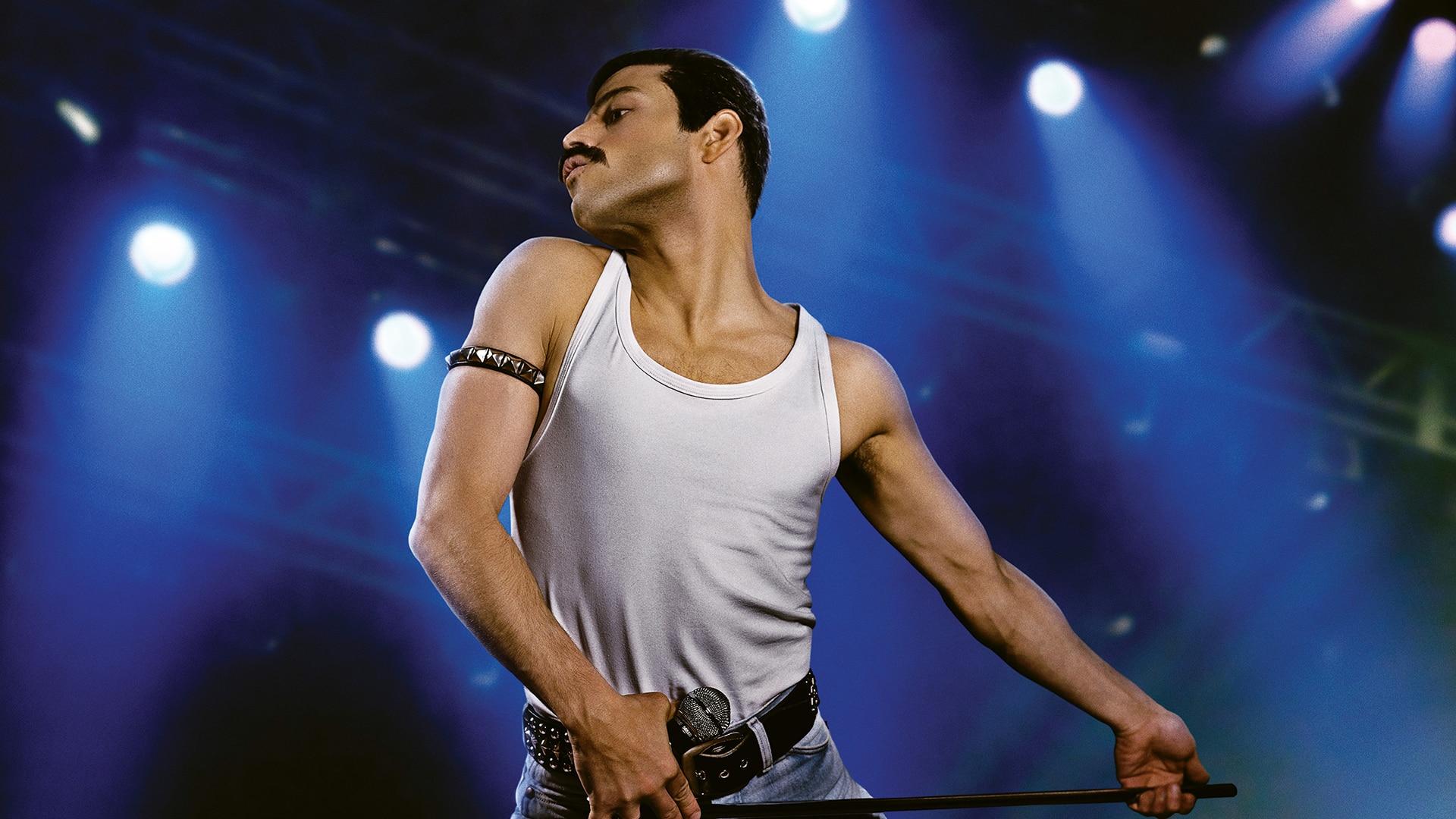 Rami Malek ako Freddie Mercury