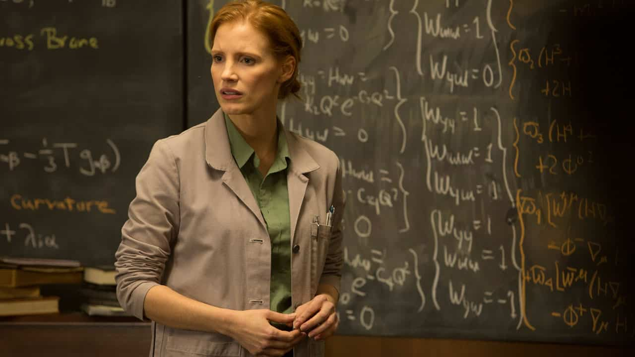 Jessica Chastain vo filme Interstellar