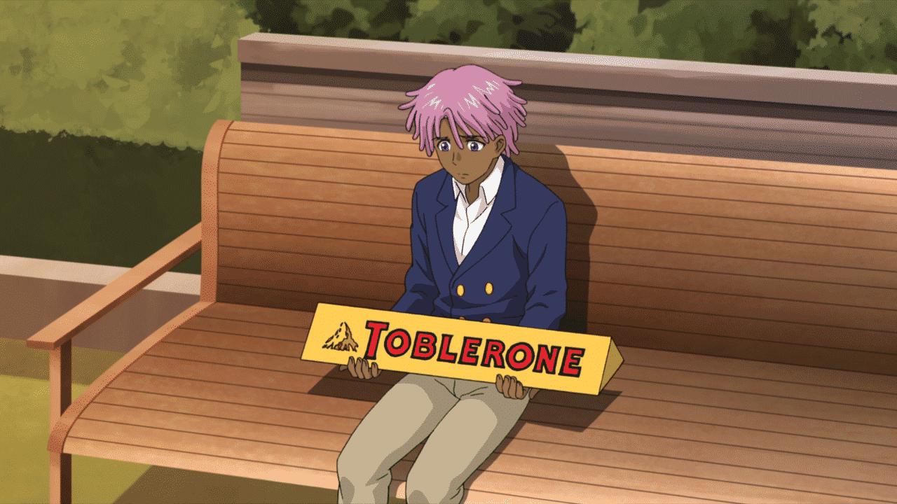 Gigantická Toblerone čokoláda nesmie chýbať