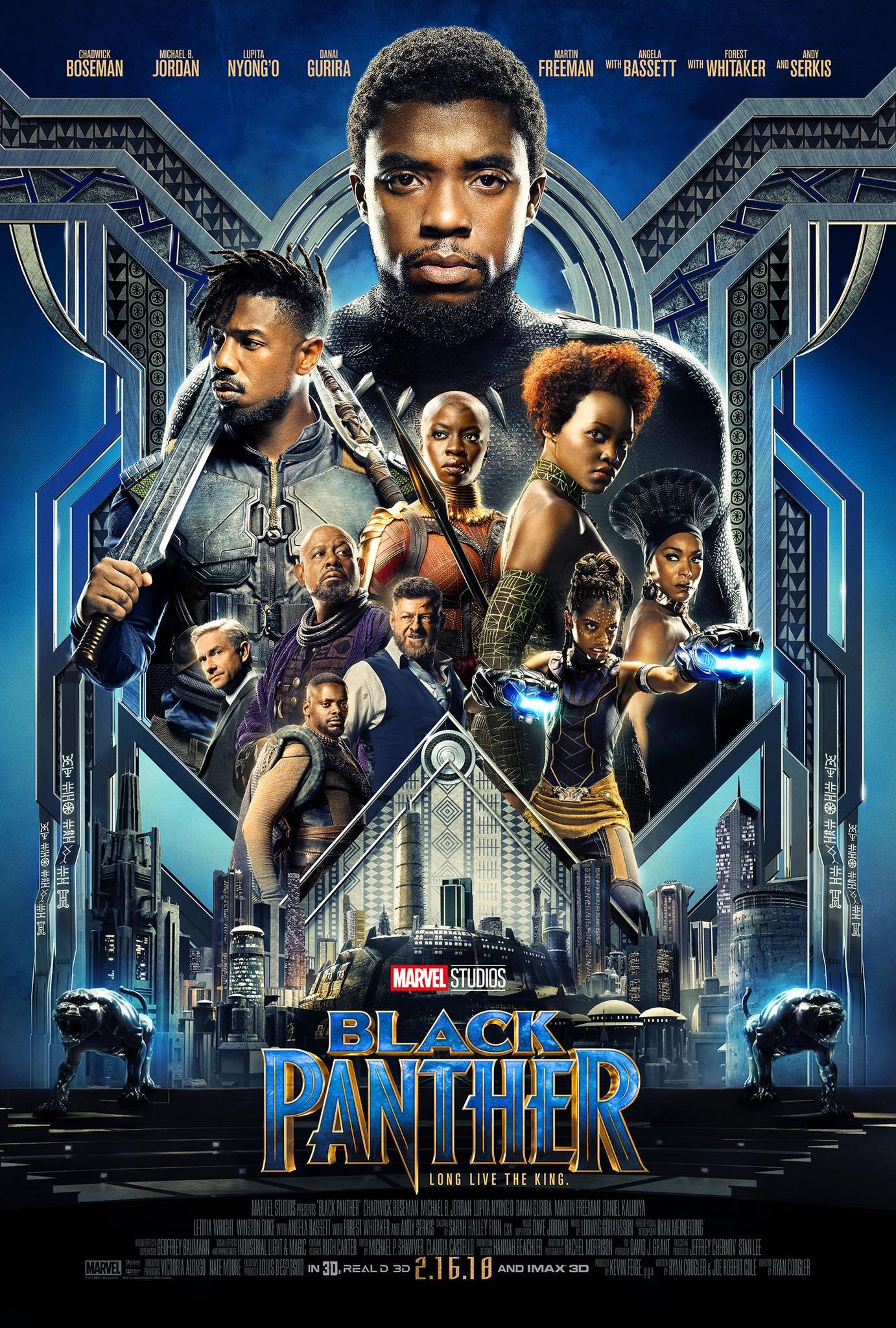 Oficiálny plagát k 18. marvelovke, Black Panther