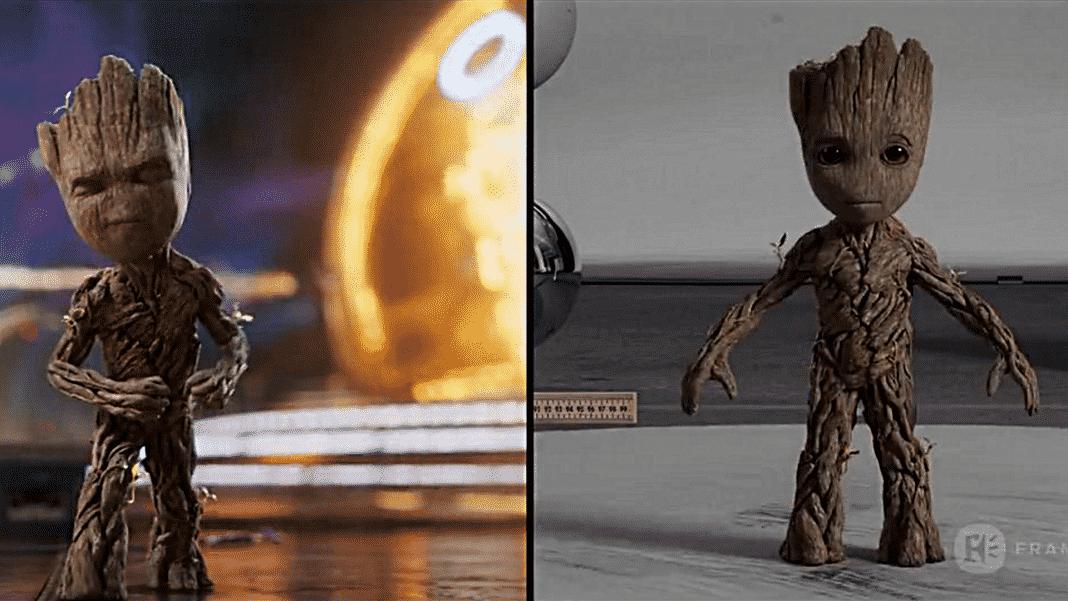 vizuálne efekty k filmu Strážcovia Galaxie 2