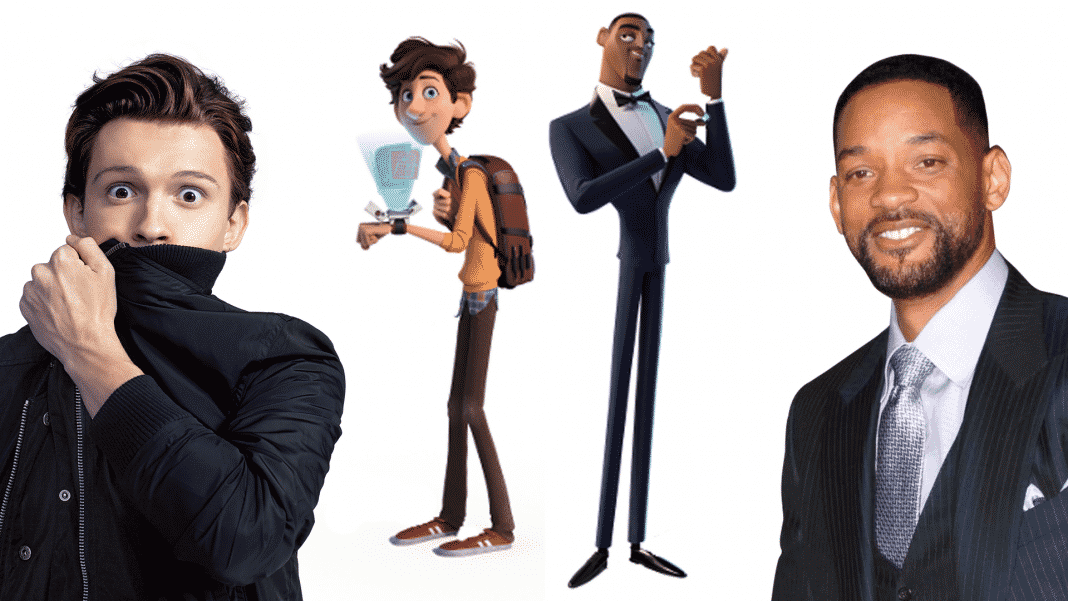 animák Spies In Disguise