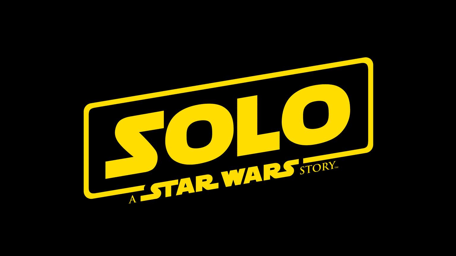 Oficiálne logo filmu Solo: A Star Wars Story