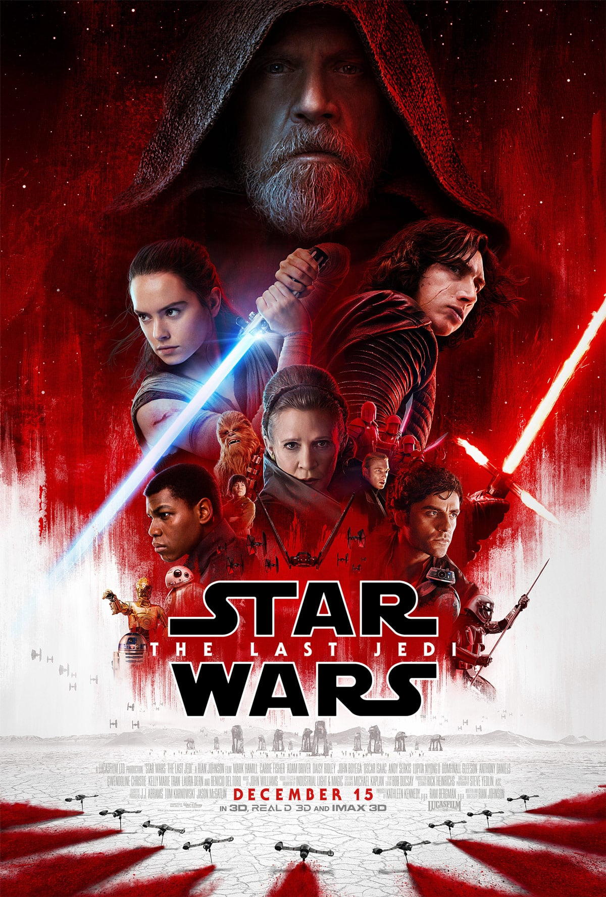 Oficiálny plagát na Star Wars: The Last Jedi