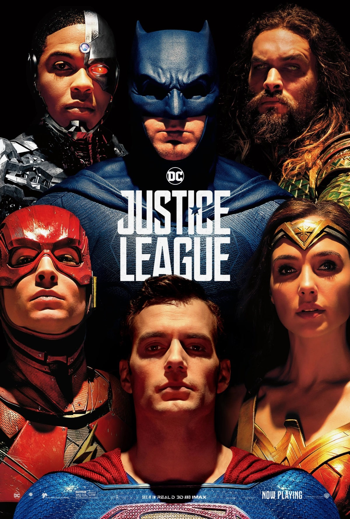 Oficiálny plagát k filmu Justice League