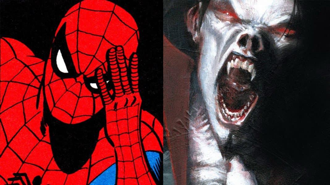 sony morbius spider-man