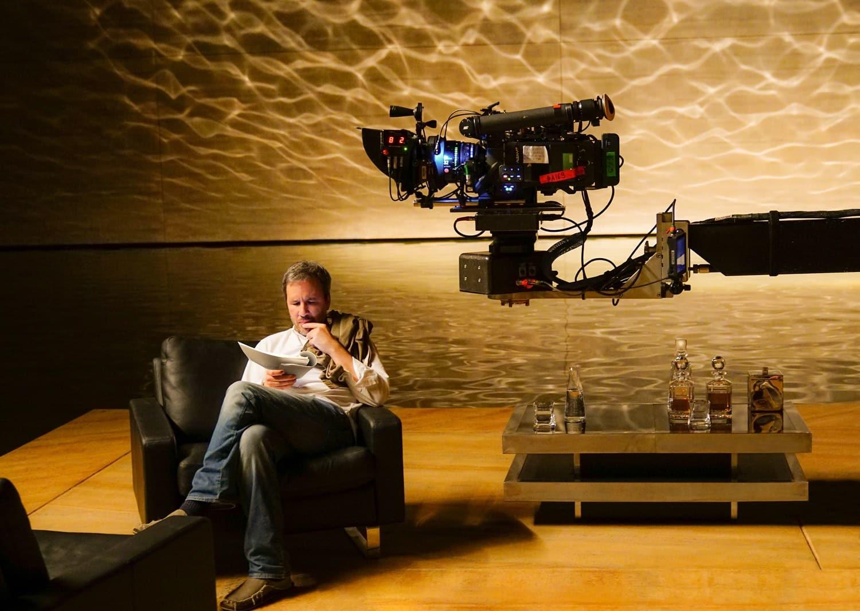 Denis Villeneuve na natáčaní filmu Blade Runner 2049