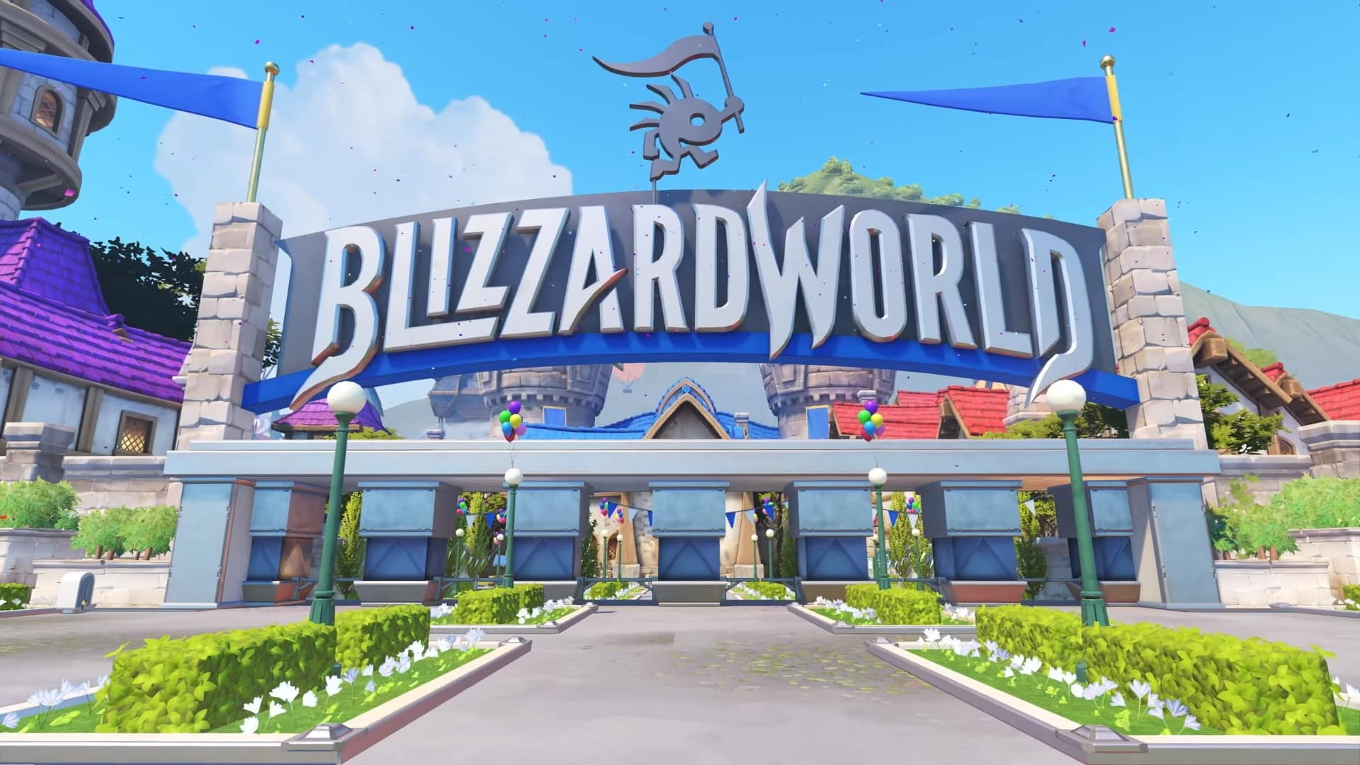 Nová mapa Blizzard World