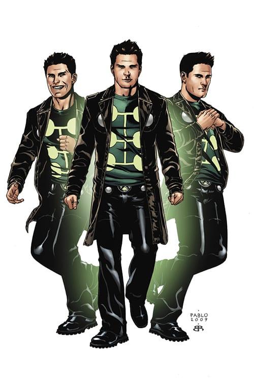 Multiple Man zo stránok komiksov