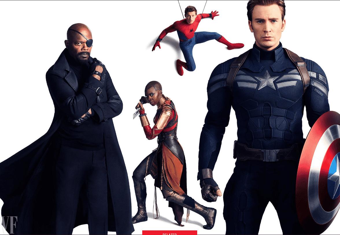Fotenie k 10. výročiu Marvel Studios