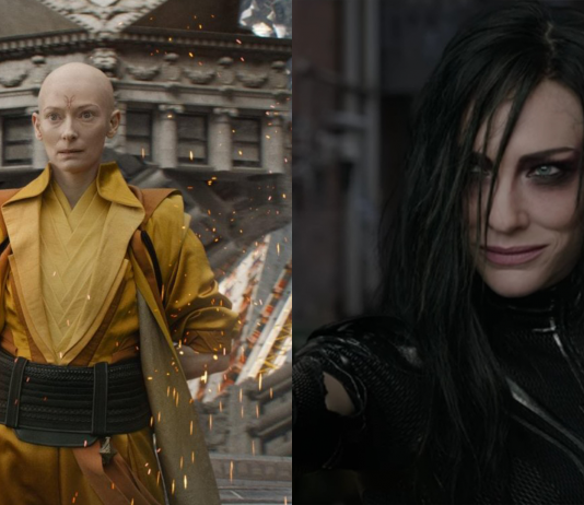 Hela a The Ancient One
