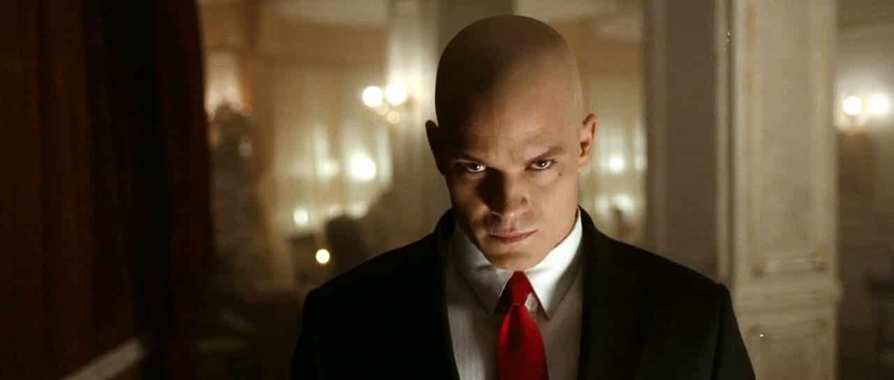 Timothy Olyphant ako Agent 47 vo filme Hitman (2007)