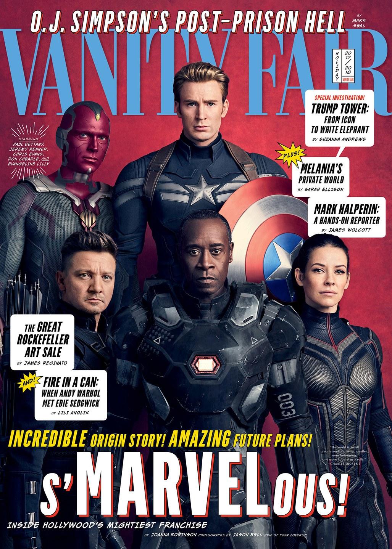 Prvý pohľad na postavy z Avengers: infinity War; Zdroj: vanityfair.com