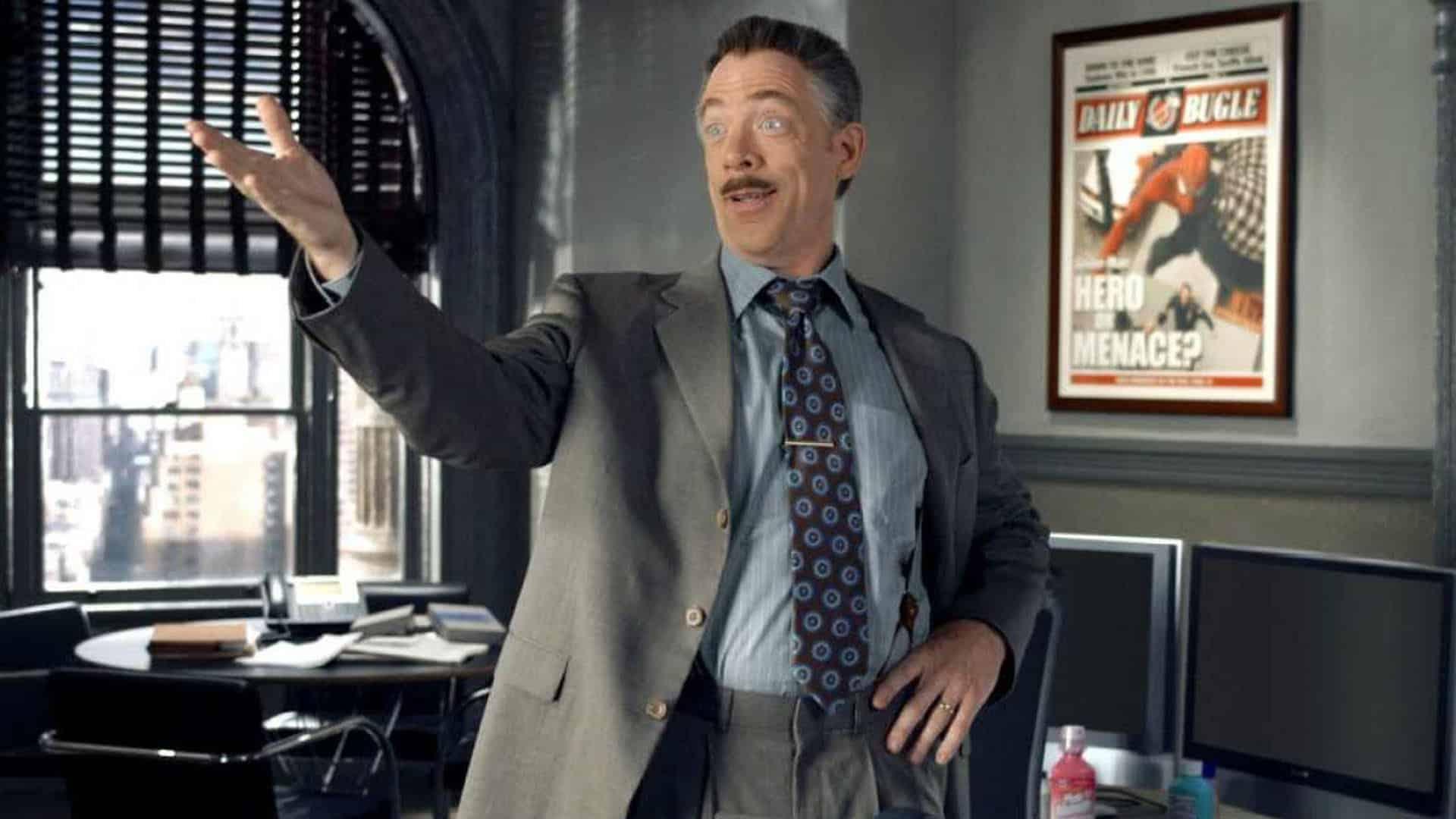 Nová postava v Marvel Cinematic Universe j jonah jameson simmons