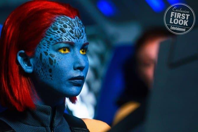 Nový výzor Jennifer Lawrence ako Mystique