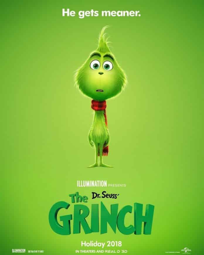 Oficiálny plagát na The Grinch
