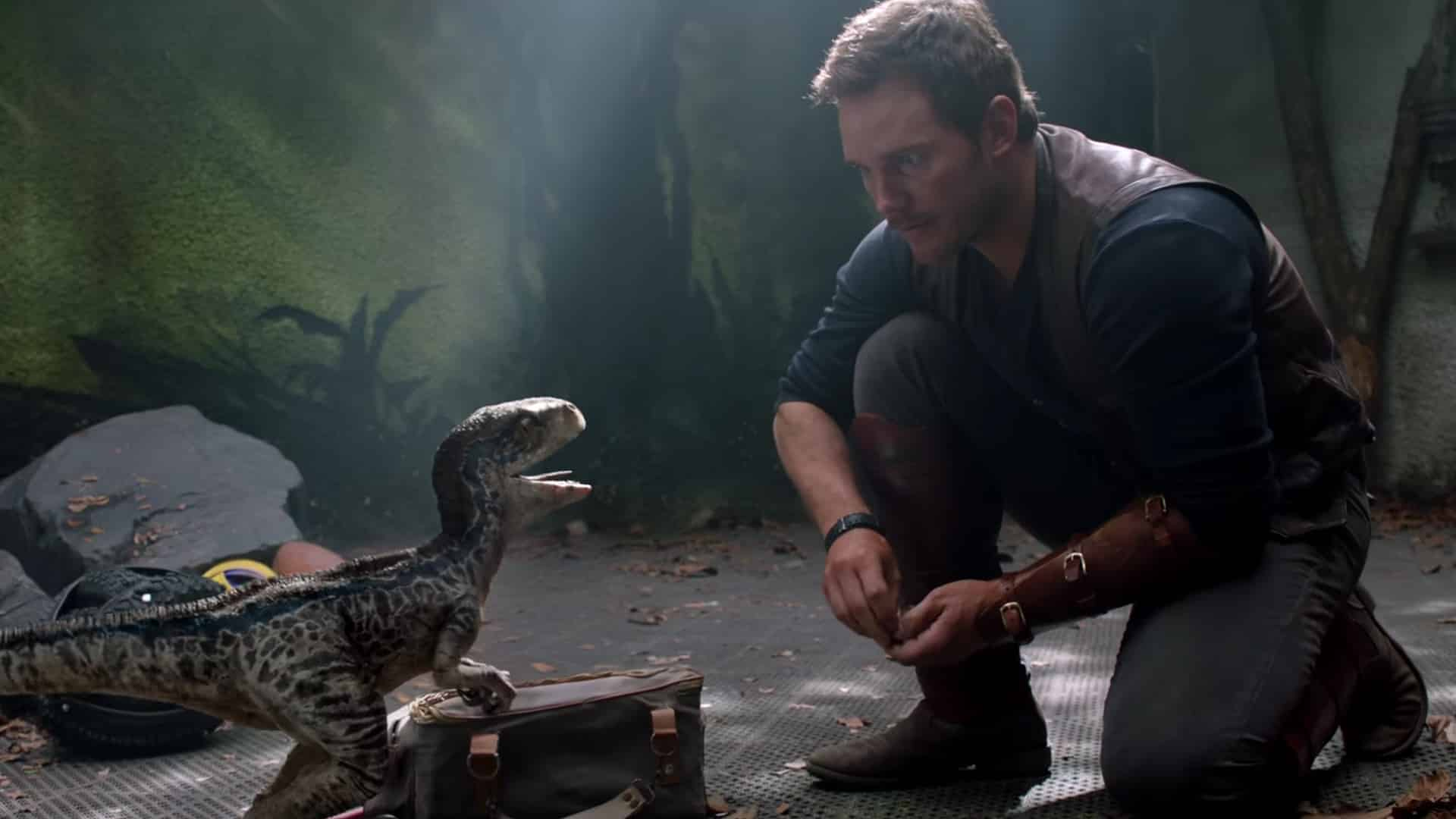 prvý jurassic world: fallen kingdom trailer