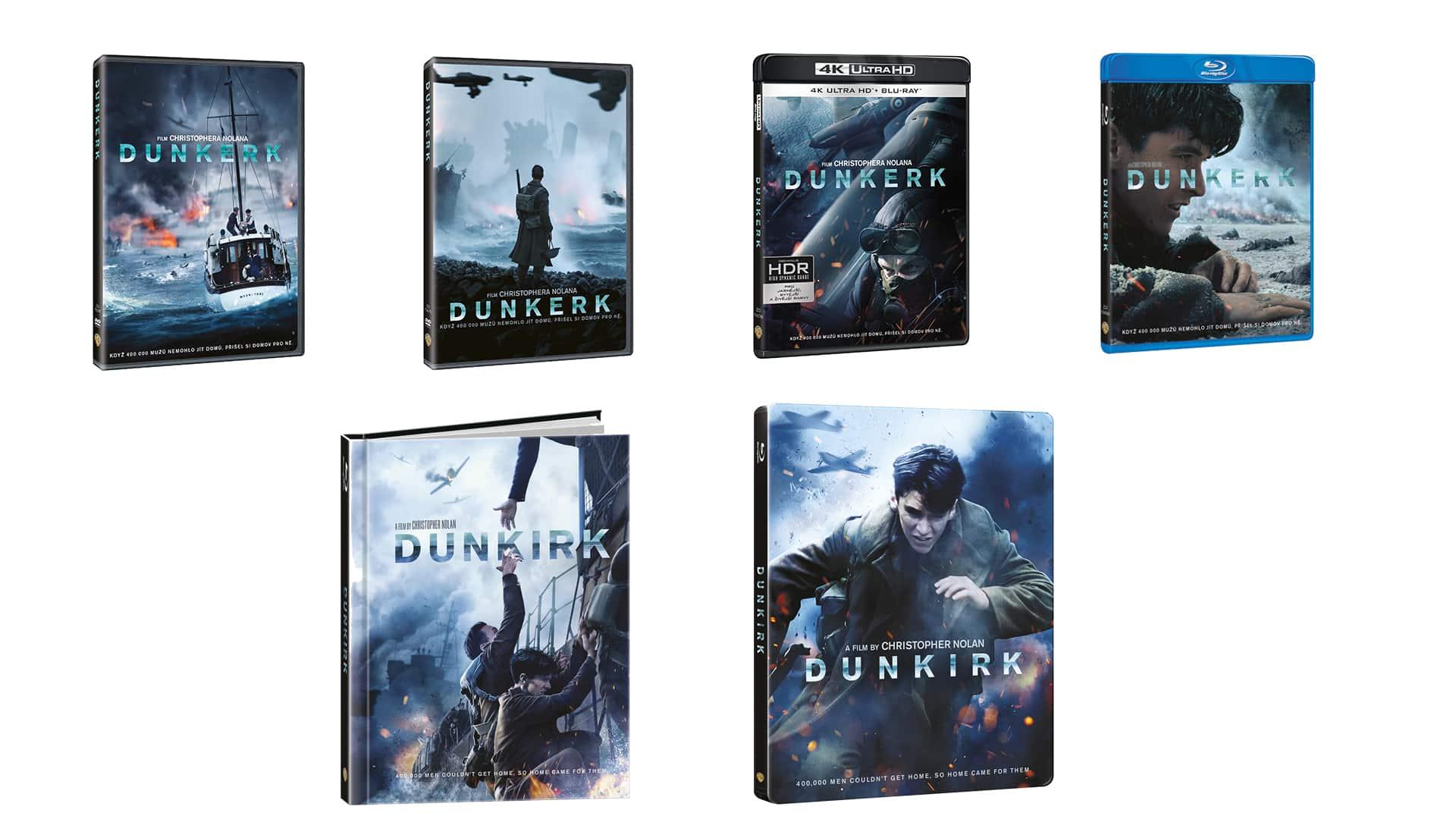 Dunkirk blu-ray edície