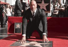 Dwayne Johnson a hollywoodsky chodník slávy