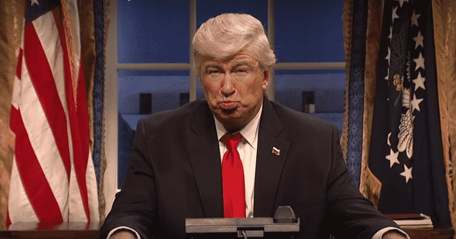 Alec Baldwin ako Trump