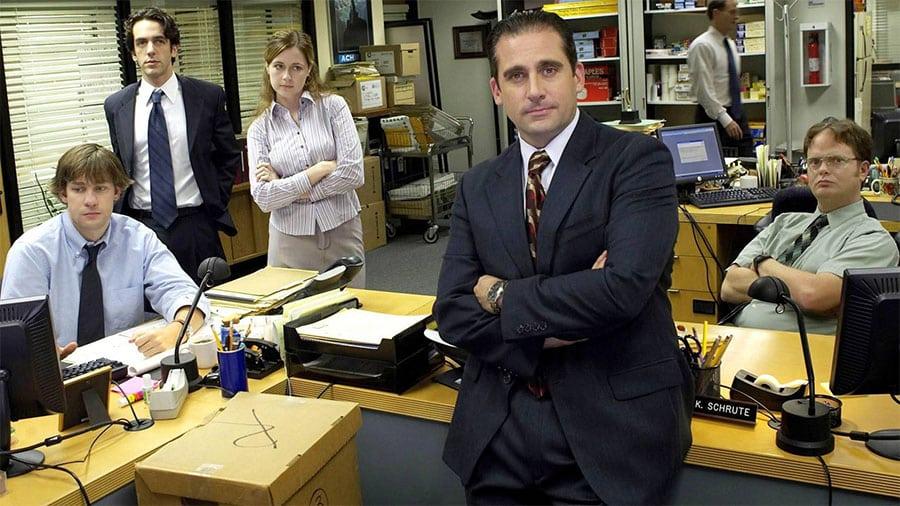 Pôvodná zostava seriálu The Office z prvej série