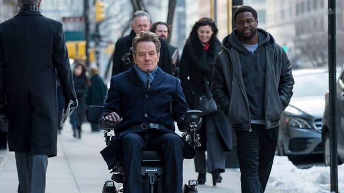 Fotka z natáčania The Upside, remaku Intouchables
