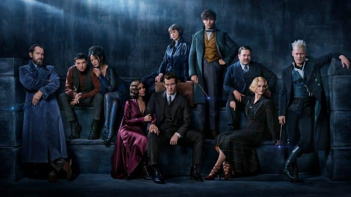 Oficiálna promo fotka k filmu Fantastic Beasts: The Crimes Of Grindelwald