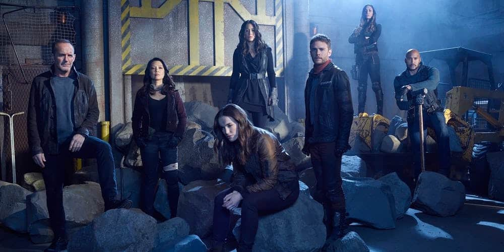 Agents of SHIELD pauza