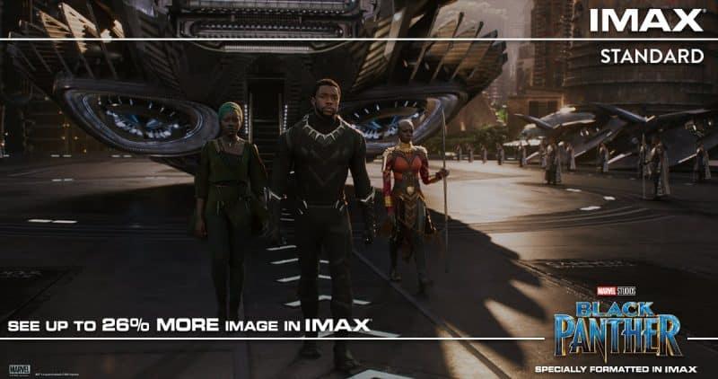 Rozdiel medzi Black Pantherom v IMAX a v štandardnom kine