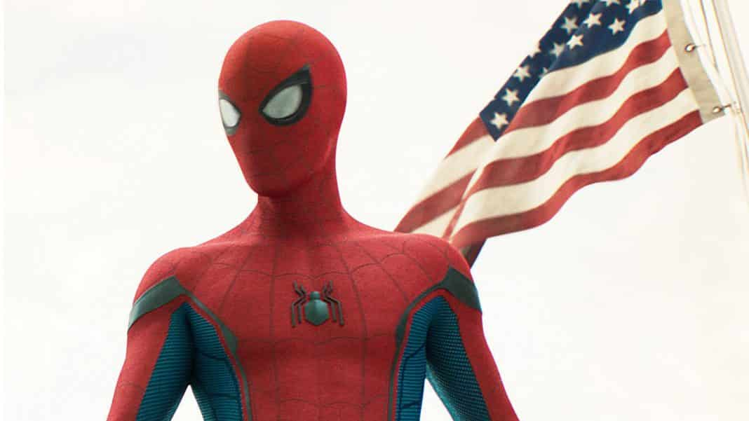 tom holland spider-man infinity war