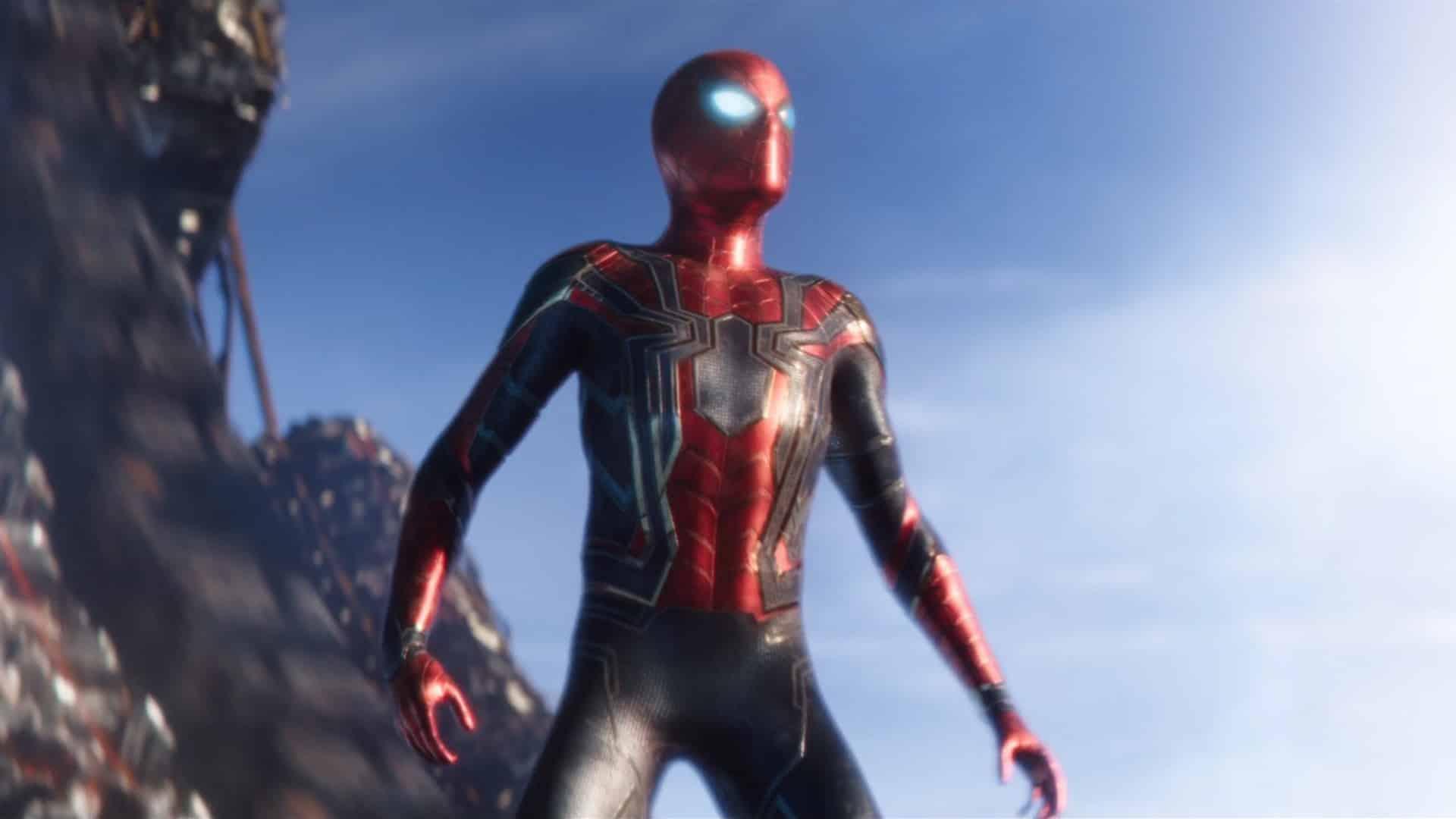 spider-man pokračovanie natáčanie tom holland spider-man infinity war