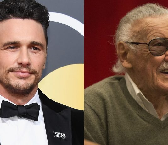 James Franco a Stan Lee