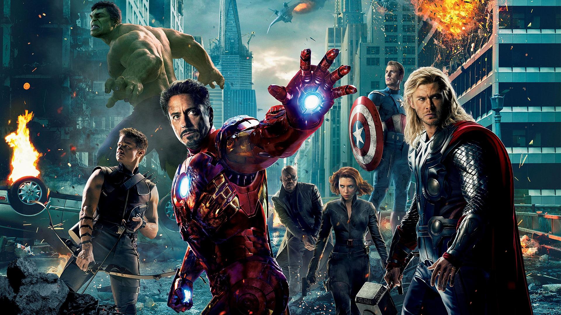 avengers natáčanie